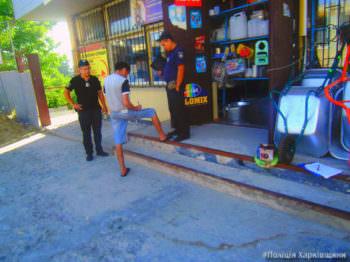 33-летний житель города Изюма ограбил магазин «Стройматериалов» в городе Балаклея
