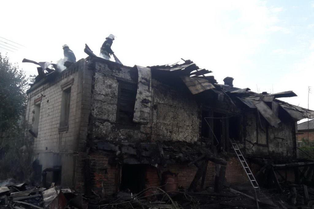 Пожар насвалке вХарьковской области ликвидирован