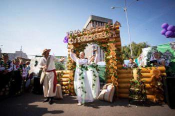 Изюмский район принял участие в большой Слобожанской ярмарке