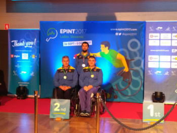 Александр Езык стал серебряным призером на Чемпионате Европы по настольному теннису