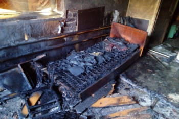 В городе Балаклея сгорел мужчина у себя дома