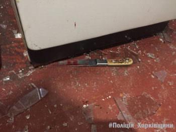 15 октября до Змиевского отдела полиции поступило сообщение о том, что отец ударил мать ножом в живот