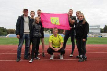 7 октября Изюмчани приняли участие в областной Спартакиаде по легкой атлетике