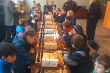 В субботу, 21 октября, школьники приняли участие в шахматном турнире