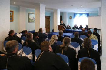 В Изюме прошли сборы военного духовенства в Вооруженных силах Украины