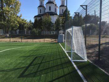 Открытие нового футбольного поля 11 октября на стадионе ИООШ №4