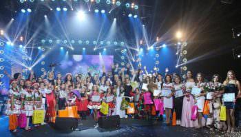 Вокальный колектив «М-Стиль» участвовал в конкурсе «Яскраві діти України».