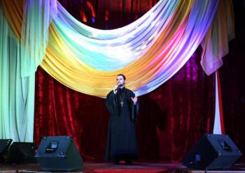 Александр Клименко выступил на концерте в г. Изюме