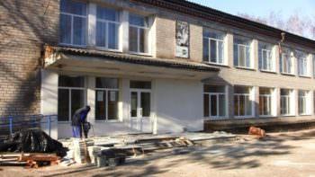В Каменском сельском доме культуры продолжается капитальный ремонт здания на сумму более 1,3 млн. грн.