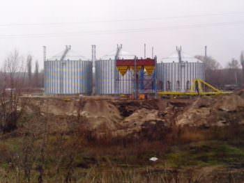 Ход строительства нового элеватора в селе Капитоловка (фото)