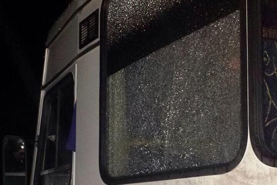 ВХарьковской области школьники обстреляли рейсовый автобус изпневматической винтовки