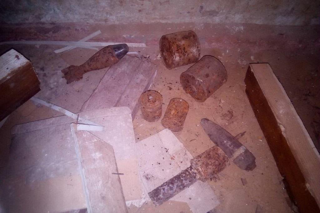 НаХарьковщине вжилом доме обнаружили мины времен 2-ой  мировой войны