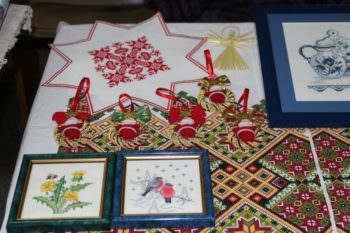 КРК «Спартак» города Изюм проходит новогодняя выставка