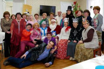 Новогоднее празднование в Терцентре города Изюма