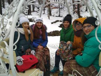 Ученики изюмской школы № 4 отправились в Закарпатье в рамках проекта «Восток-Запад − вместе!»