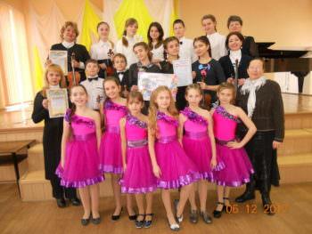 Участие учеников Изюмской детской музыкальной школы в 1-м Открытом турнире по теоретическим дисциплинам «Эрудит»