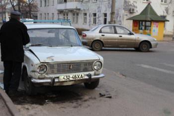 В центре города Изюма случилось две ДТП