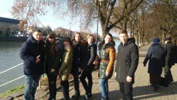Ученики Изюмской школы № 12 отдыхают в Закарпатской области