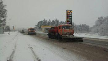Ограничения движения на дорогах Харьковской области из-за снегопада нет