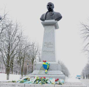 Изюмчани отметили 99-ю годовщину Соборности Украины