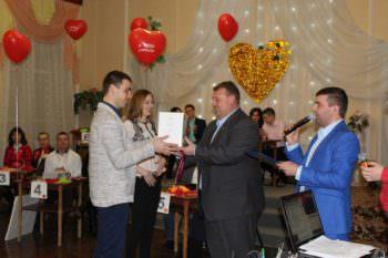 В Изюме в преддверии Дня святого Валентина состоялась конкурсная программа в ГДК для влюбленных
