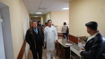 Мэр Марченко В. В. с проверкой побывал в Изюмской ЦГБ