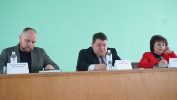 В Изюме состоялcя итоговый медицинский совет по 2017 году