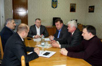 Город Изюм с рабочей поездкой посетил начальник полиции в Харьковской области