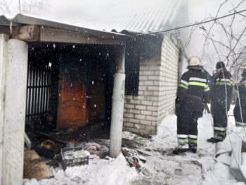 В городе Изюм 1 марта от пожара погиб хозяин дома