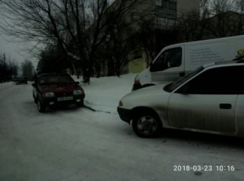 Изюмские водители безнаказанно нарушают ПДД