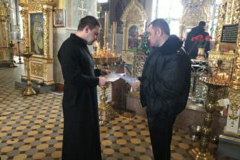 Изюмскую епархию предупредили о возможных ЧС на Пасху