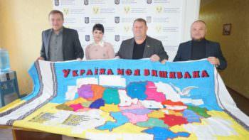 Городская власть присоединилась к  акции «Вышитая моя Украина»