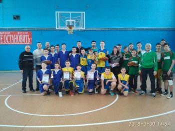 Школьная баскетбольная лига города Изюм