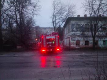 Пожар в Изюме, сгорела квартира вместе с хозяйкой