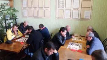 Состоялись соревнования по шахматам и шашкам