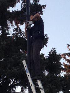 В Изюме устанавливают 14 камер видео камер наблюдения