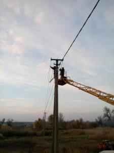 Водоканал построил резервную электрическую сеть для артезианских скважин