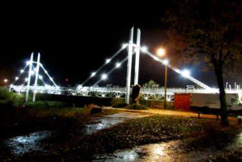 пешеходный мост г. Изюм