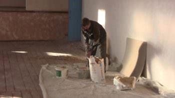 В Доме культуры села Долгенькое  ремонт