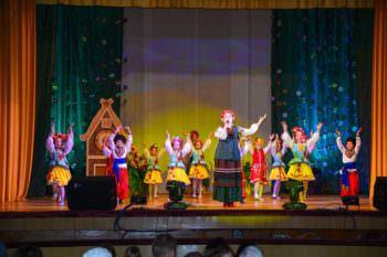 В Железнодорожнике прошло театрализованное представление (фото)