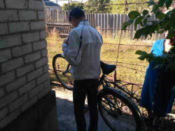 Изюмские полицейские  разоблачили 18-летнего парня в краже велосипеда