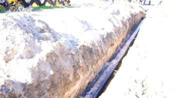 Замена водопровода на участке по ул. Надозерная прошла успешно