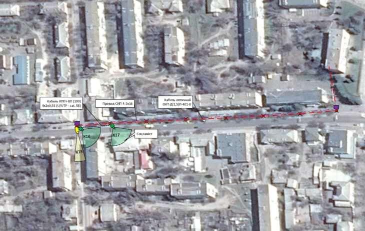 На двух перекрестках города установят камеры видео наблюдения (план-схема)