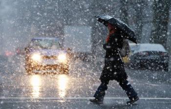 В Изюме на выходных прогнозируют сильный снег и метель. погода