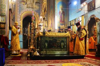 мощи священномученика Киприана и мученицы Иустинии