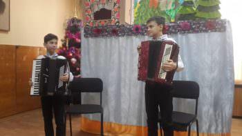 В Изюмской музыкальной школе прошло концертное выступление