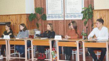 """10 декабря состоялся """"круглый стол"""" с учениками и руководством города"""