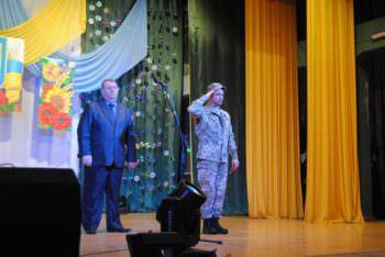 В Железнодорожнике прошел концерт ко дню ВСУ (фото)