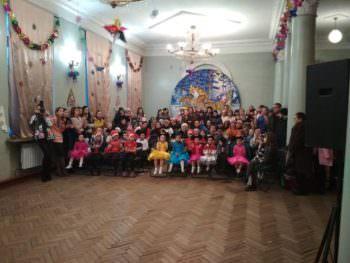 Новогодний утренник 2019 для воспитанников клуба «Элегия» (фото)