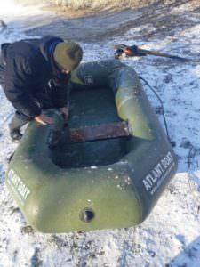 На Краснооскольском водохранилище браконьер нанес ущерб на 45 тыс. грн
